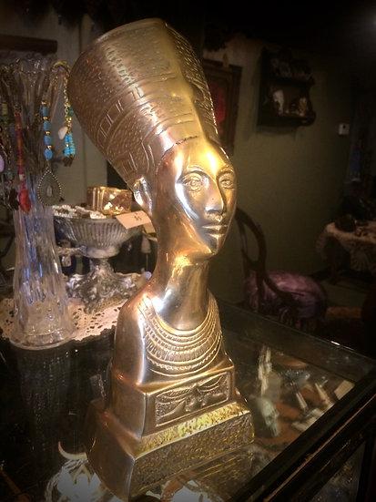 Egyptian Brass Statue