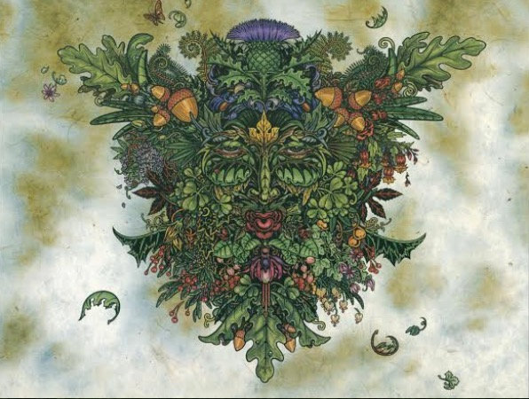 Greenman ~Maxine Miller Print