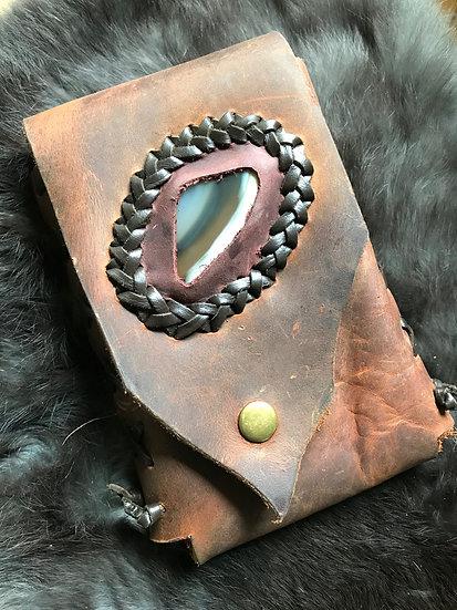 Leather Tarot Belt Bag