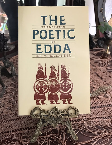 The Poetic Edda ~Book Translated by Lee Hollander
