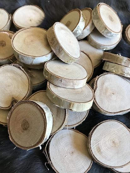 Blank set of 36 Discs on Birch for Runes