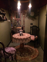 Reading and Divination Room at INVOKE portland oregon