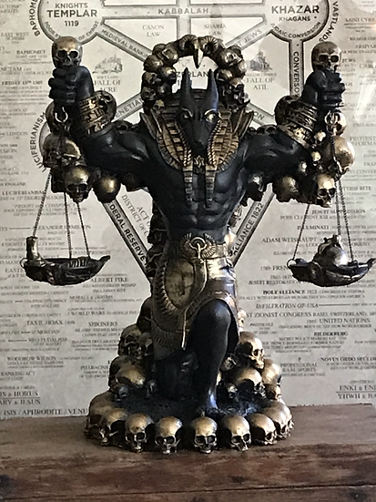 Judgement of Anubis ~Statue
