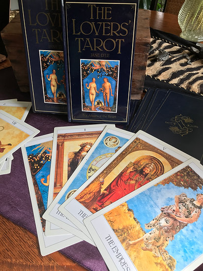 The Lovers Tarot (Major Arcana) ~Jane Lyle (previously owned)