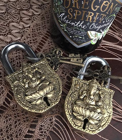 Ganesh Brass Lock