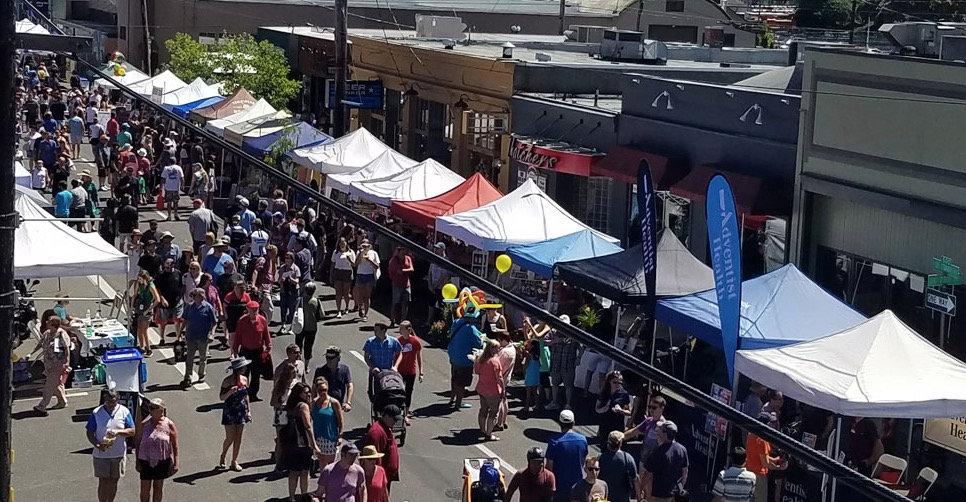 7/29: MONTAVILLA Street Fair!  10:00-6:30