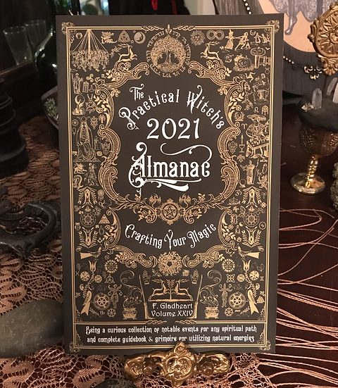 2021 Witch's Almanac ~Book~