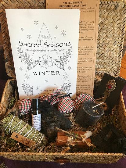 SACRED WINTER Keepsake Gift Box