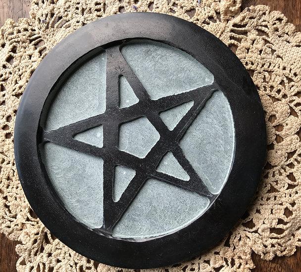 Pentagram Soapstone Tile