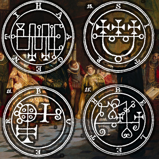 (SOLD OUT) CLASS: Wednesday 10/16 7:00-8:30 Introduction to Sigil Magic