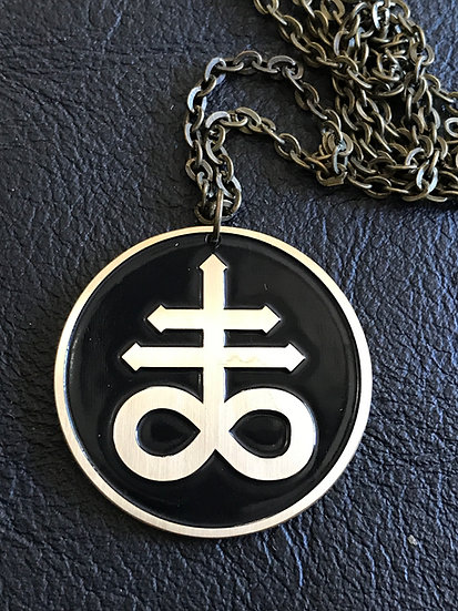 Leviathan Medallion Pendant on Chain