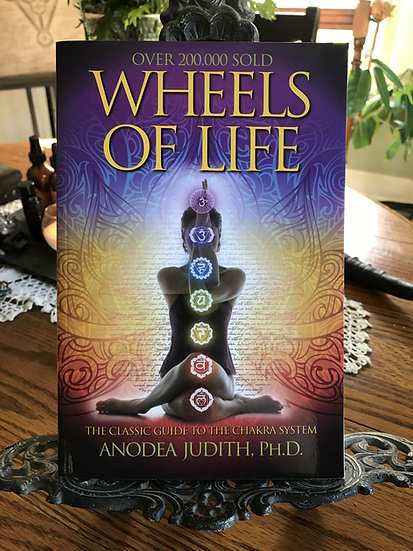 Wheels of Life- Book by Anodea Judith