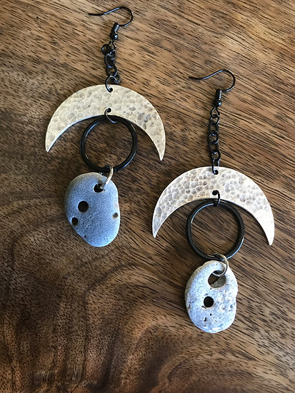 Crescent & Hagstone Earrings