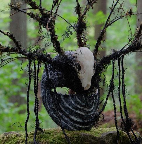 Labyrinth Weaver Mask