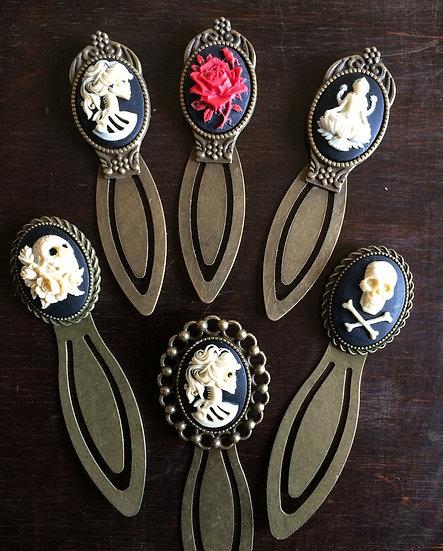 Cameo Brass Bookmarks