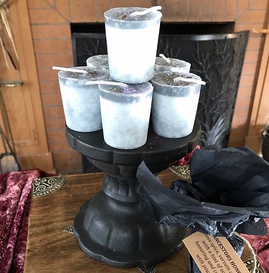 Ancestors Honoring Votive Candle
