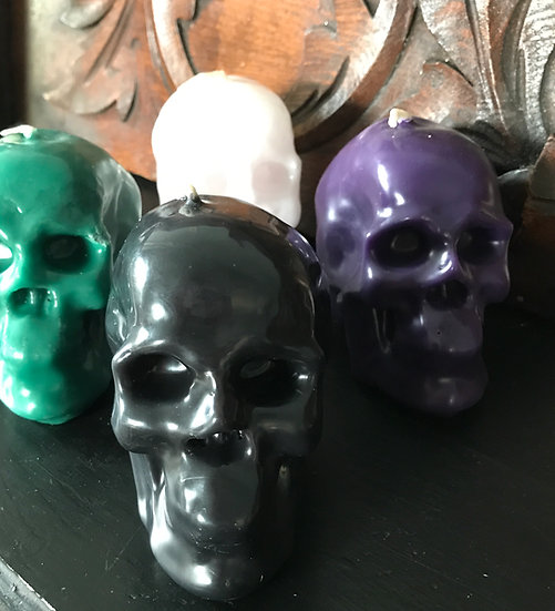 Skull Candles -Handcrafted