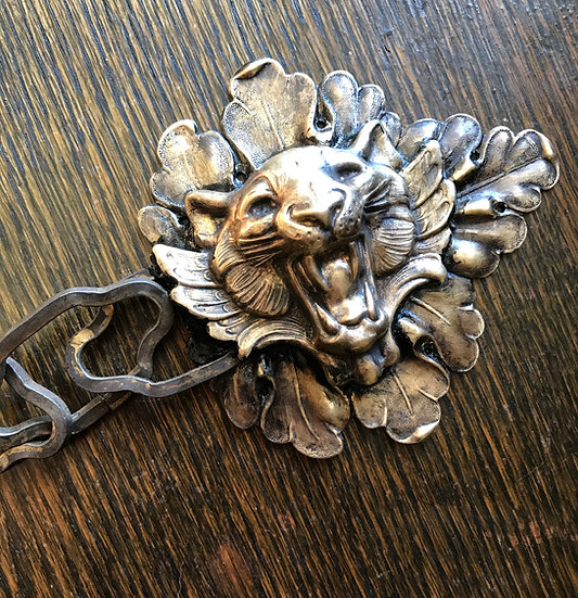 Specialty Crafted Lion Cloak Clasps