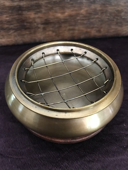Brass Incense Dish