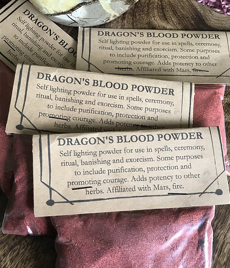 Dragon's Blood Powder Incense