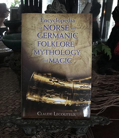 Encyclopedia of Norse & Gemanic Folklore Mythology & Magic ~Boo
