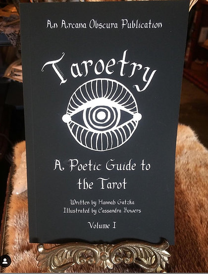 Taroetry -Book by Hannah Gatzka