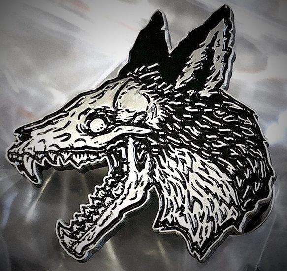 Plague Fox Pin
