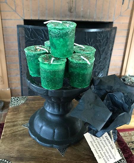 Earth Hag Votive Candle