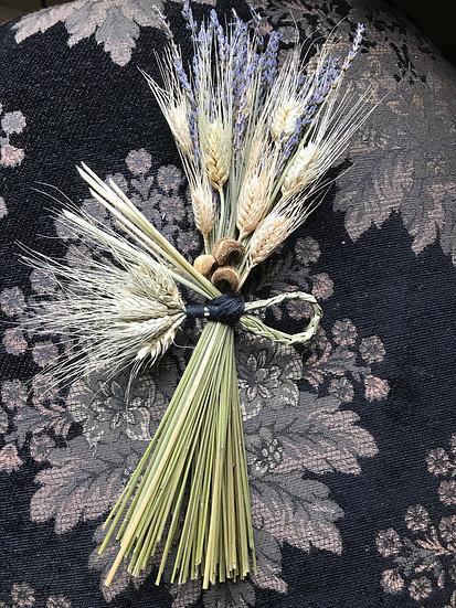 Wheat & Lavendar Home Blessing Hanging Bundle