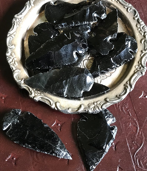Obsidian Arrows ~Protection~Grounding~Strength