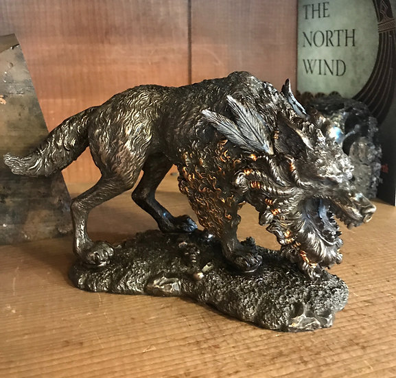 Fenrir~ Statue of the Wolf