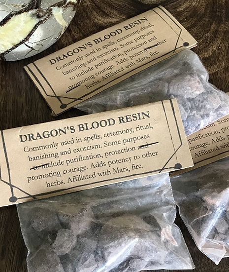 Dragon's Blood Resin