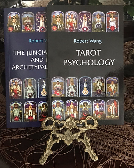 Tarot Psychology & Jungian Archetypes~Books by Robert Wang