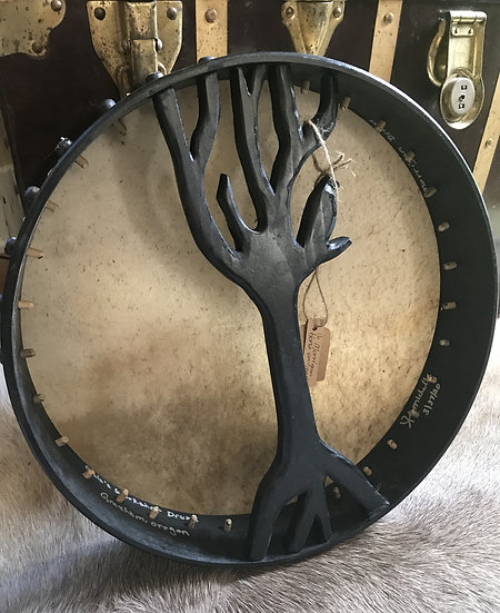 "The Morrigan~ 16"" Horse on Maple Pegged Drum"