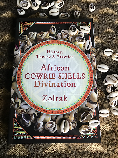 African Cowrie Shells Divination Book Set