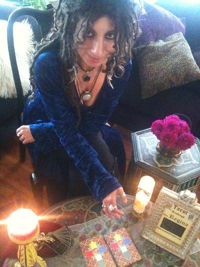 Friday 4/5  2:00-5:00 Tarot Readings by Regina! $1 per min