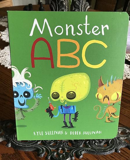 Monster ABC- Book by Kyle & Derek Sullivan