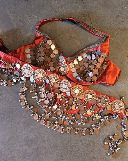 Coin Belt and Bra