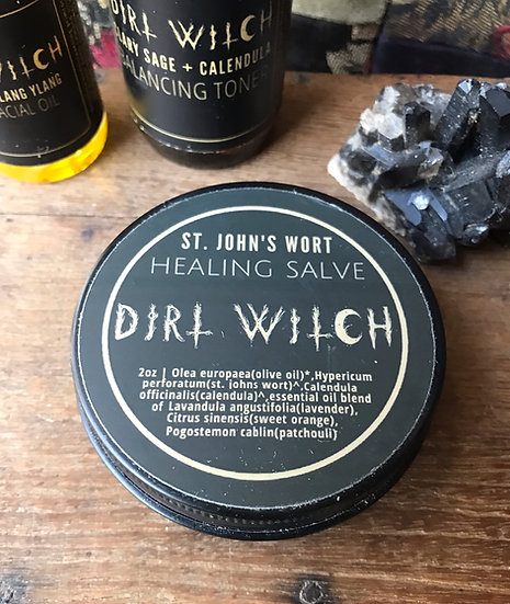 St. John's Wort Healing Salve~by Dirt Witch