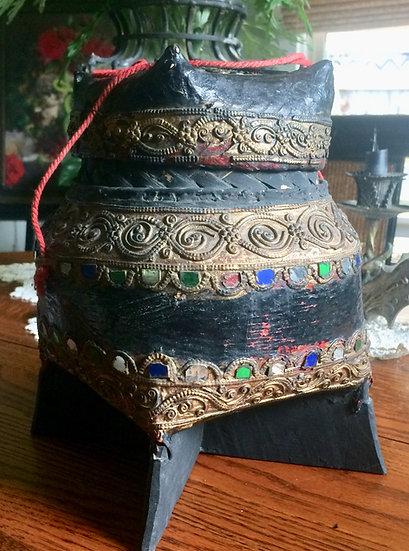 Old Tibetan Basket Box