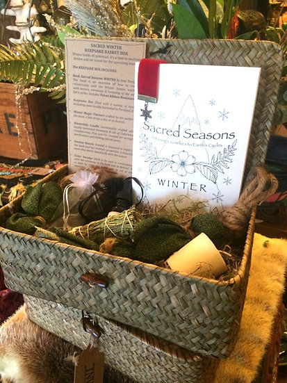 SACRED WINTER Keepsake Gift Box
