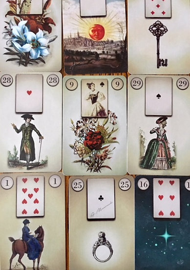 CLASS: Thur  2/27  Beginner Lenormand w/ Lynda Schumacher  7-8:30