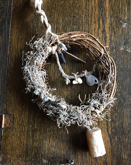 Grapevine Wreath ~Blessing & Protection ~Locally Crafted