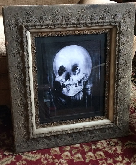 "Framed ""All is Vanity"" Print on Canvas"
