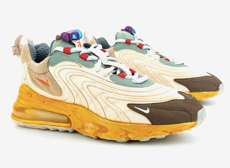 The Anticipation is over: Travis Scott Nike Air Max 270 Is Expected to be release in April