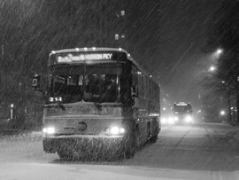 """MTA Scheduled To Reduce Service Leading Up To """"Unpredictable"""" Snow Storm"""