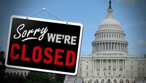 The Government shut down again y'all