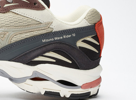 Wood Wood x Mizuno Wave Rider Drops in Mid Quarantine