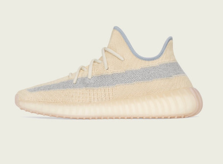 "The Adidas Yeezy Boost 350 v2 ""Linen"" Are Dropping Pon Your Head Top"