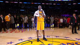 Kobe Bryant's Farewell Game Towel Sold at Auction For More Than $33k